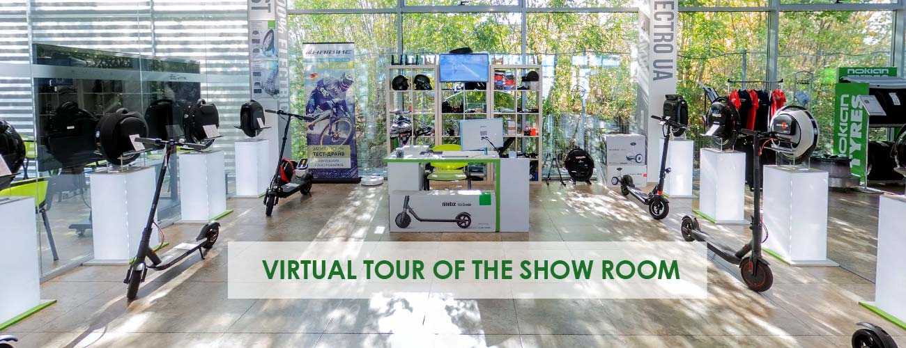 Virtual tour of our show room